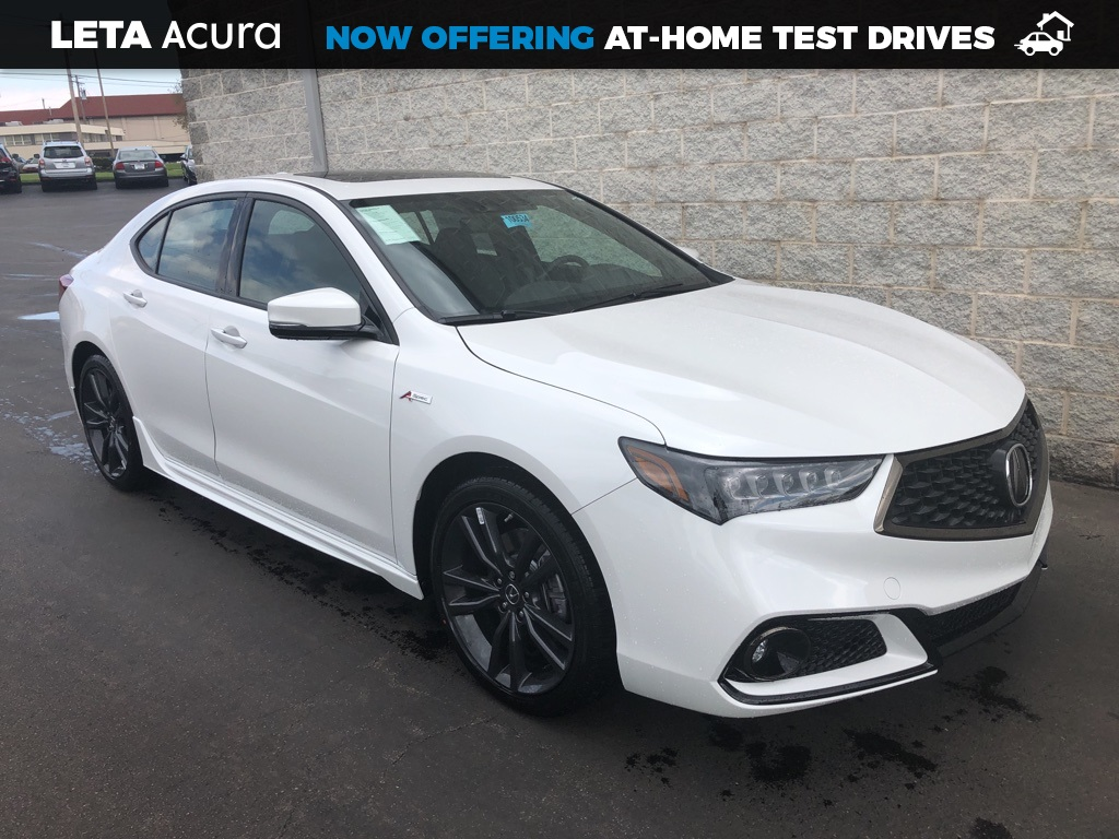 new 2020 acura tlx 3.5l a-spec pkg 4d sedan near st. louis