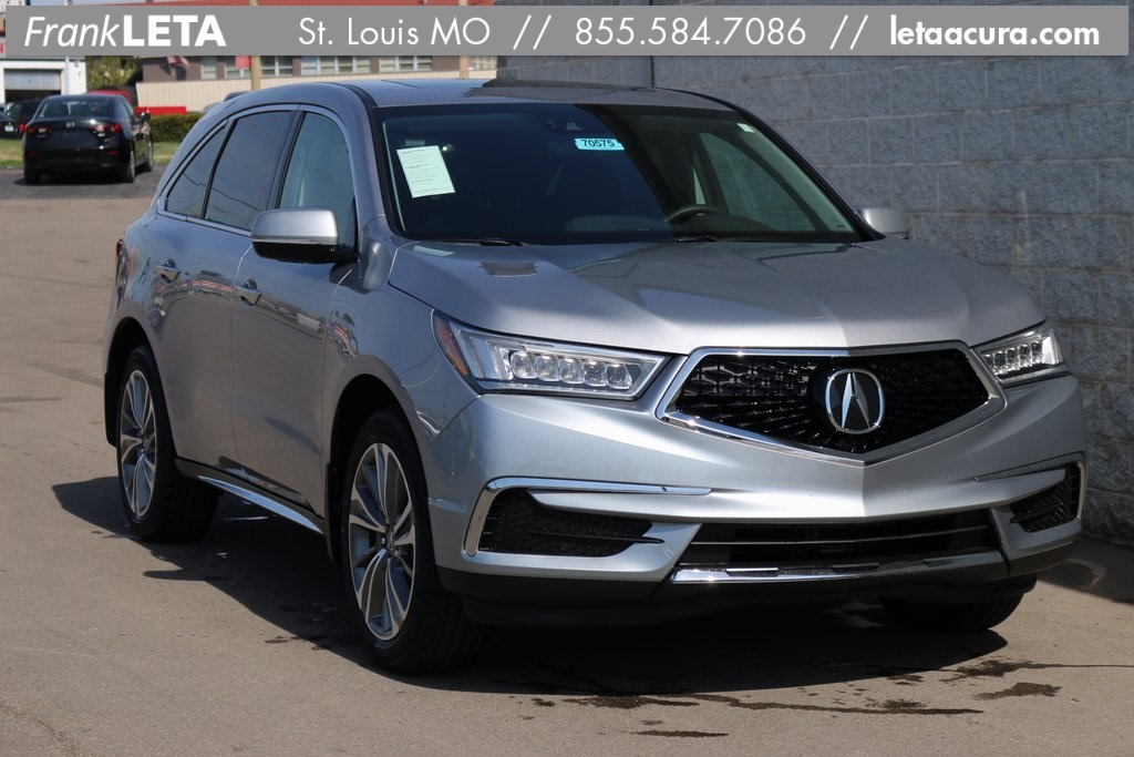 Certified PreOwned Acura MDX L D Sport Utility Near St - Acura mdx pre owned