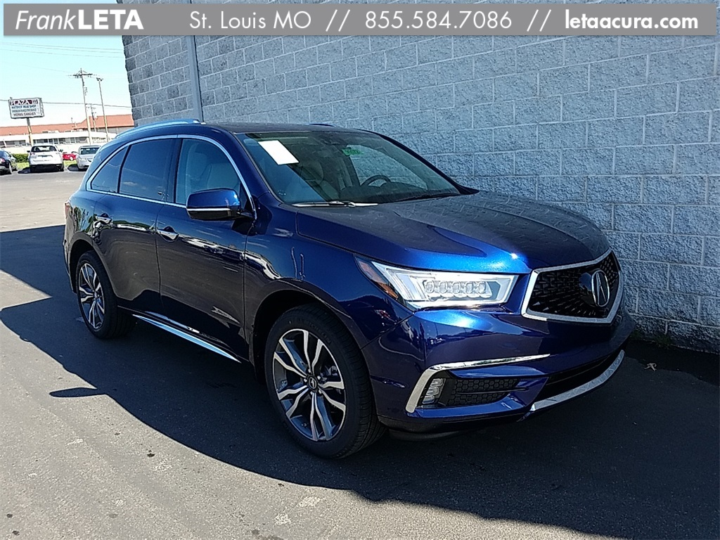 New 2019 Acura Mdx 3 5l Advance Package