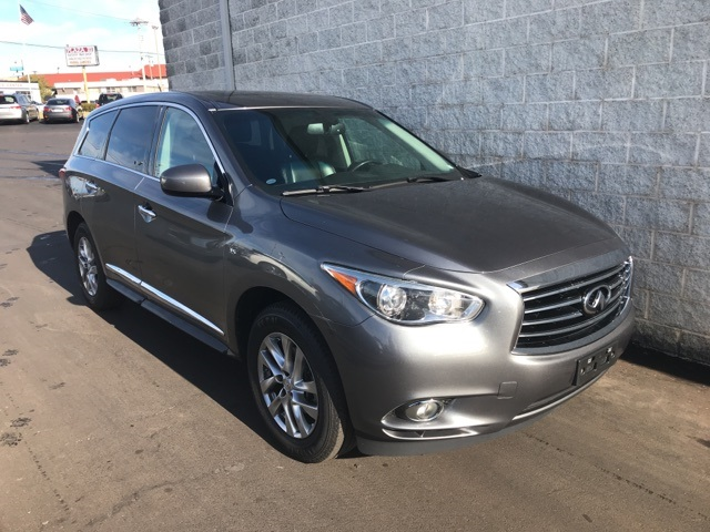 Pre-Owned 2015 INFINITI QX60 4d SUV AWD