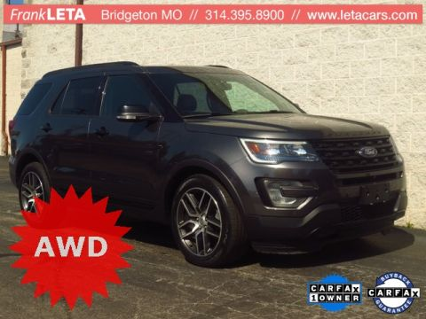 Pre-Owned 2016 Ford Explorer 4d SUV 4WD Sport