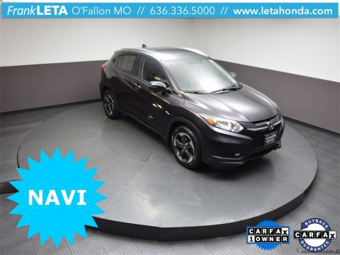 Certified Pre-Owned 2018 Honda HR-V EX-L