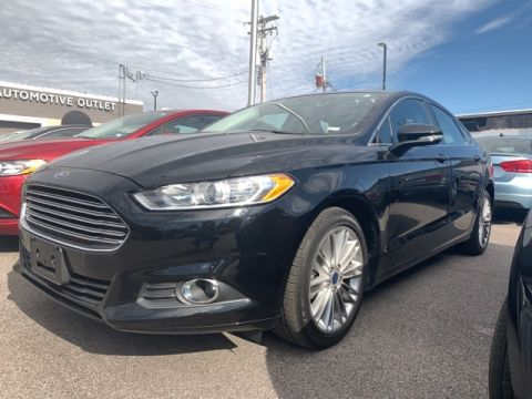 Pre-Owned 2016 Ford Fusion 4d Sedan SE AWD
