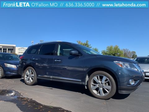 Certified Pre-Owned 2013 Nissan Pathfinder Platinum