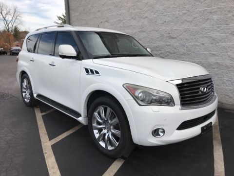 Pre-Owned 2011 INFINITI QX56 4d SUV 4WD